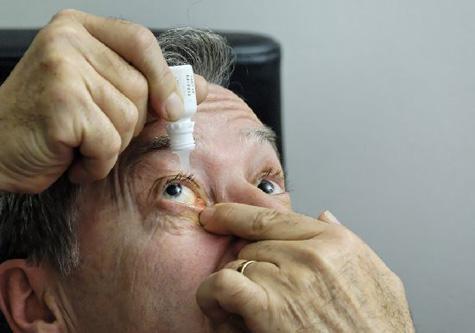 Le glaucome est une maladie du nerf optique due à un..
