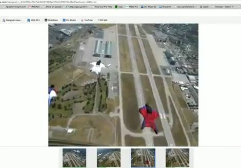 Captation vidéo via lunettes Google - Caméra embarquée